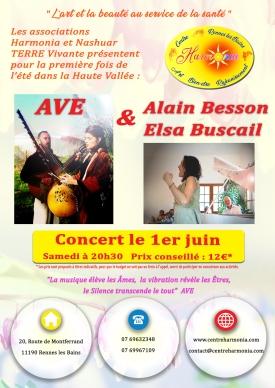 flyer concert Ave
